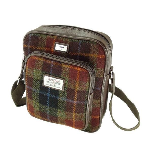 Glen Appin Harris Tweed Tay Uomo Bag Lb1216 Scelta Di Colori