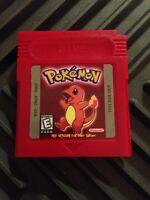 Usa Seller Custom Made Pokemon Red Version - Gameboy Advance Game