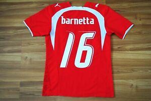 SWITZERLAND 2006/2007/2008 HOME FOOTBALL SHIRT JERSEY PUMA SIZE XS BARNETTA #16