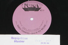 THEO VANESS -Back To Music- LP 1978 Karma Archiv-Copy mint