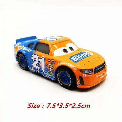Cars 3 Toys 21 Blinkr Diecast Toy Car 1 55 Loose Kids Vehicle Speed Racer Ebay
