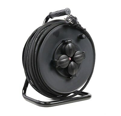 STROMKABEL KABELTROMMEL H07RNF 3G1.5mm2 IP44 - 50m Verlängerungskabel