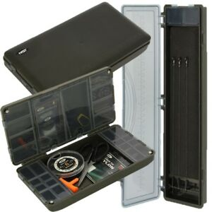 XPR TERMINAL TACKLE BOX SYSTEM EMPTY + 999 STIFF RIG CASE CARP FISHING NGT 5060382746878