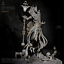 77mm Unpainted Resin Kits Anubis self-assembled Figure Kits DIY Toy
