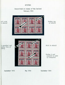 Aitutaki-Specialized-1913-Stamp-Collection-Mint