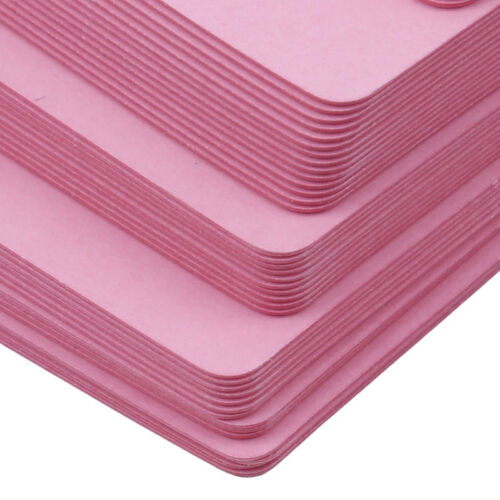 100 Pcs Blank Cards Paper For Business Message DIY Craft Gift Stationery one