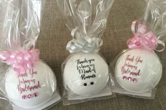 Mother of the Bride - Heart Personalised Wedding Wine Glass Charms Favours Light Pink