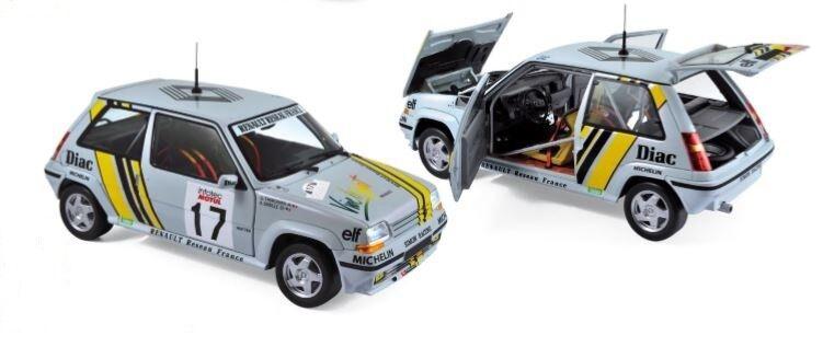 Norev Renault Supercinq GT Turbo 1989 1 18 Oreille   Thimonier Tour de Corse