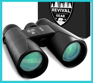 10x42 REVIVAL GEAR Binoculars All Purpose, Tactical, Outdoor