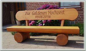 Details Zu Hochzeitsgeschenkgartenbank Aus Holzjubiläum Geschenkrentner Geschenk