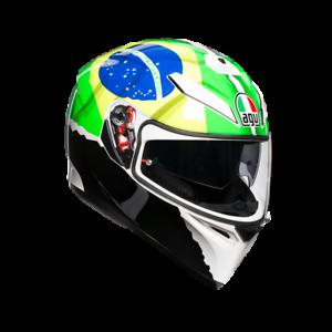 fab04f5c Details about AGV K3 SV MORBIDELLI (New 2019) Motorbike/Motorcycle Helmet  Internal Sun Visor