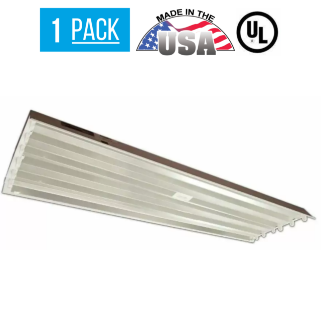 6 Lamp T5 Fluorescent Linear High Bay Light Fixture Shop Commercial Warehouse For Sale Online Ebay