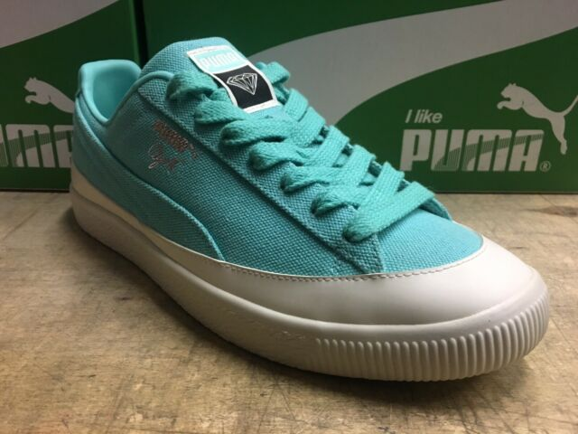 buy online 5a885 65f3b PUMA PUMA X Diamond Clyde SNEAKERS Men Low Boot Blue 12