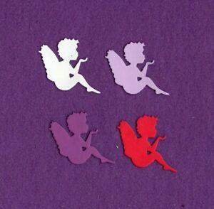 ANGEL 3 die cuts scrapbook cards