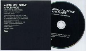 ANIMAL-COLLECTIVE-Applesauce-UK-2-trk-promo-CD-radio-edit-album-version