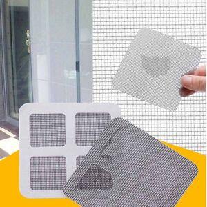 3x anti insekt fliegen t r fenster moskito schirm netz reparatur klebeband kle x ebay. Black Bedroom Furniture Sets. Home Design Ideas