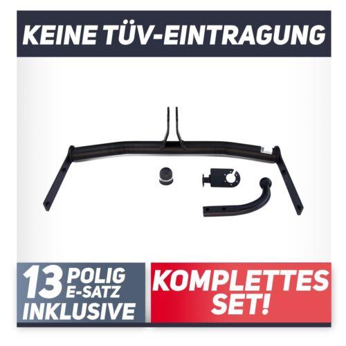 es 13p Pour VOLKSWAGEN Polo IV 9n3 3//5-tür Berline 05-09 attelage rigide