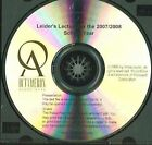 Leider's Lecture: A Complete Course in Understanding Financial Aid by Octameron Associates (Paperback / softback, 2006)
