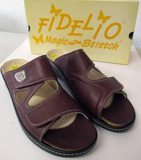 """Fidelio tuttiuce FABIA f1 2 434003 07 bordo  """" Stretch Seali Tg. 42 Larghezza F 1 2"""