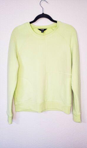 Fila Neon Green/Yellow Sweatshirt
