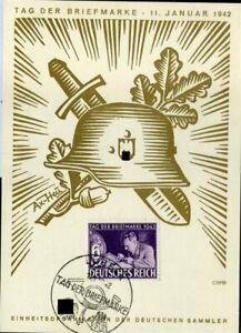 Karte Lübeck.Details Zu 414514 Tag Der Briefmarke Sst Lübeck 1942 Auf Maxi Karte M Nr 811