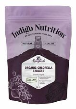 Organic Chlorella Tablets - 250 x 500mg - Indigo Herbs