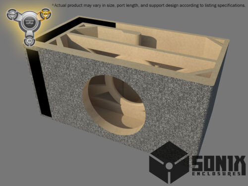 STAGE 3 PORTED SUBWOOFER MDF ENCLOSURE FOR ROCKFORD FOSGATE T1D215-T1D415