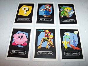 Nintendo 3ds Lot Of 6 Ar Cards Ebay