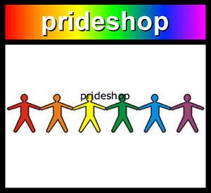 Was gay rainbow male sticker