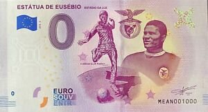 BILLET-0-EURO-ESTATUA-DE-EUSEBIO-PORTUGAL-2018-NUMERO-1000