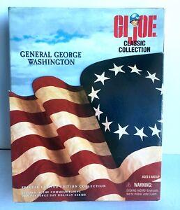 G.i.joe Général George Washington Edition spéciale limitée Gj-11