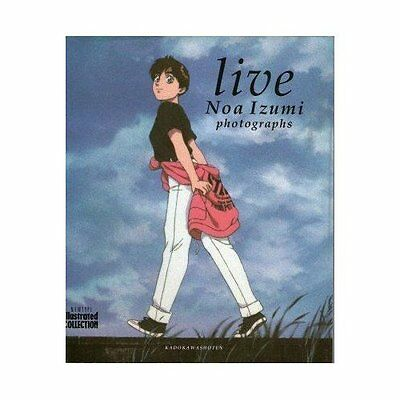 PATLABOR Noa Izumi Photographs live newtype illustrated collection art book