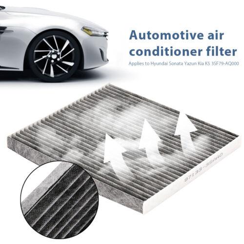 x wuw For Hyundai Sonata S8 KIA K5 Regular Carbonized Cabin Air Filter Well