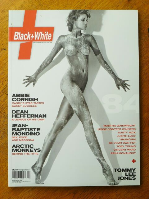 (not only) Black + White Magazine Issue Number 84, cover by Joan Alsina