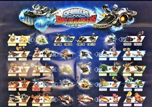 Skylanders-Superchargers-including-some-RARES-All-Boxed-GIFTS-AND-COLLECTABLES