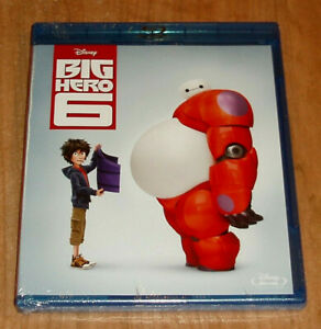 Big-Hero-6-Classic-Disney-N-56-Blu-Ray-New-Sealed-Sleeveless-Open-R2