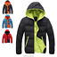 Fashion-Men-Boy-Winter-Warm-Hooded-Thick-Padded-Jacket-Zipper-Slim-Outwear-Coat miniatura 7