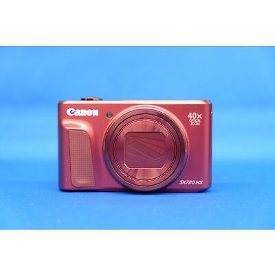 Canon PowerShot SX720 HS Red Compact Digital Camera Japan Domestic Version New