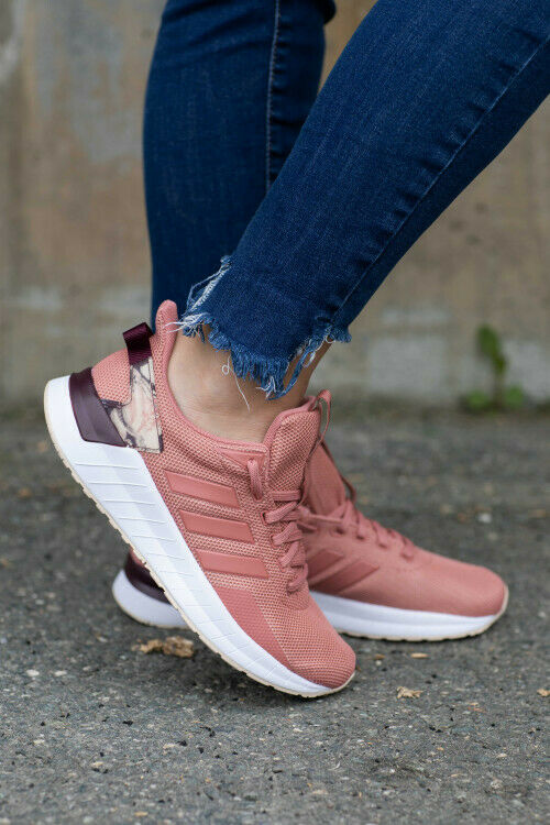 Adidas  Womens shoes Running Questar Ride CLOUDFOAM Training Work Out Pink EE8377  order now enjoy big discount