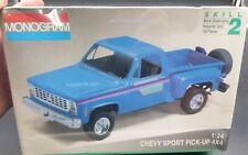 Revell 1//24 Monogram 1972 Chevy LUV Sreet Pickup Cabover Model Kit 4493