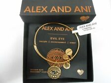 Alex and Ani Evil Eye Expandable Charm Bracelet A17ebeerg Rafaelian Gold (v1)