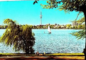 Fernsehturm-Hamburg-Ansichtskarte