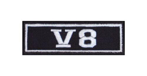 V8 Biker Patch ricamate moto MC Rocker STAFFA immagine Heavy BADGE USA auto