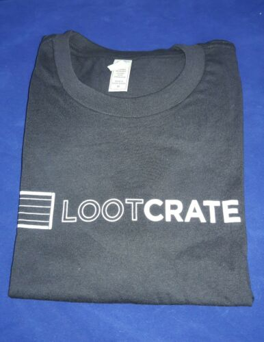 Loot Crate Gaming Exclusive Official Member 2017 T-Shirt Pick Your Size