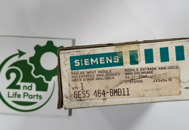 SIEMENS 6ES5 464-8MD11 Simatic S5 Sps Analog Input - New/Boxed - Worldwide, Tax
