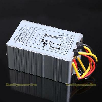 5A 24V to 12V DC-DC Car Inverter Power Supply Adapte Converter Conversion Device