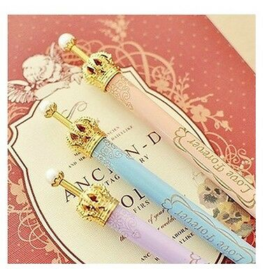 Gold Crown Pearl Ball Point Pens