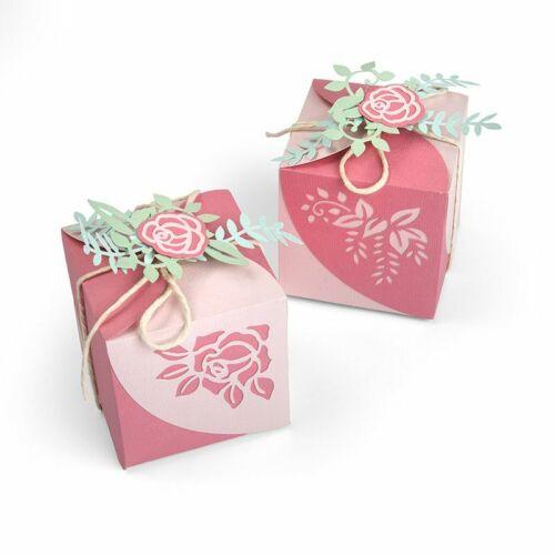Sizzix Wrap Favor Box Thinlits Die Set par Lynda kanase thinlit chapitre 2 2019...