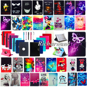 "For Samsung Galaxy Tab E 7"" 8"" 9.6"" SM-T113 T377 T560 Universal Folio Case Cover"