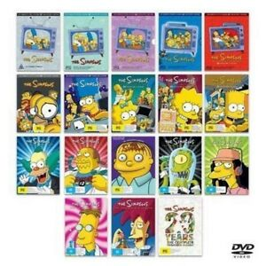 The-SIMPSONS-COMPLETE-SEASON-1-17-20-DVD-NEW-TV-SERIES-ULTIMATE-Collection-R4